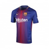 Maillot Nike FC Barcelone Domicile 2017/18 Bleu Enfant
