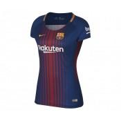 Maillot Nike FC Barcelone Domicile 2017/18 Bleu Femme