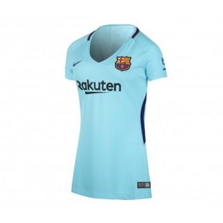 Maillot Nike FC Barcelone Extérieur 2017/18 Bleu Femme
