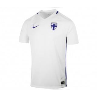 Maillot Nike Finlande Domicile 2016/17 Blanc