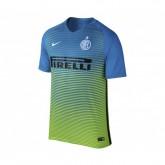 Maillot Nike Inter Milan Third 2016/17 Bleu et Vert