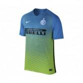Maillot Nike Inter Milan Third 2016/17 Bleu et Vert Enfant