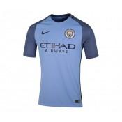 Maillot Nike Manchester City Domicile 2016/17 Bleu