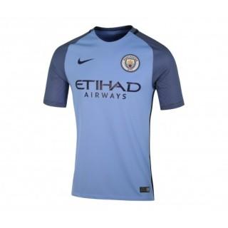 Maillot Nike Manchester City Domicile 2016/17 Bleu Enfant