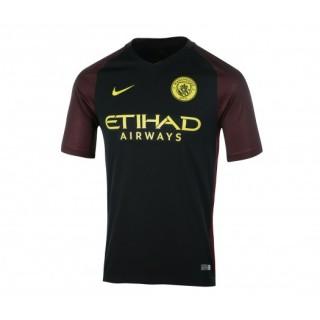 Maillot Nike Manchester City Extérieur 2016/17 Noir Enfant