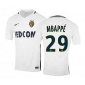 Maillot Nike Monaco Extérieur MBAPPE 2016/17 Blanc