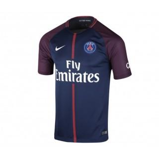 Maillot Nike Paris Saint-Germain Domicile 2017/18 Bleu