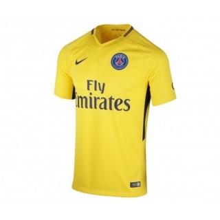 Maillot Nike Paris Saint-Germain Extérieur 2017/18 Jaune