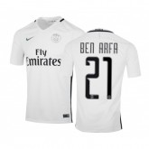 Maillot Nike Paris Saint-Germain Third Ben Arfa 2016/17 Blanc