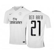 Maillot Nike Paris Saint-Germain Third Ben Arfa 2016/17 Blanc