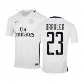 Maillot Nike Paris Saint-Germain Third Draxler 2016/17 Blanc
