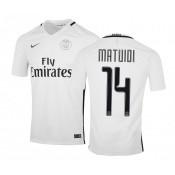 Maillot Nike Paris Saint-Germain Third Matuidi 2016/17 Blanc