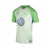 Maillot Nike Wolfsbourg Domicile 2017/18 Vert et Blanc