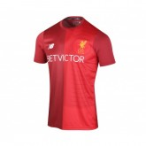 Maillot Pré-Match New Balance Liverpool Rouge