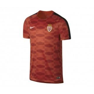 Maillot Pré-Match Nike AS Monaco Squad Rouge