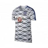 Maillot Pré-Match Nike Chelsea Squad Gris