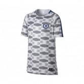 Maillot Pré-Match Nike Chelsea Squad Gris Enfant
