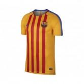 Maillot Pré-Match Nike FC Barcelone Squad Jaune