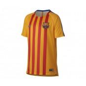 Maillot Pré-Match Nike FC Barcelone Squad Jaune Enfant