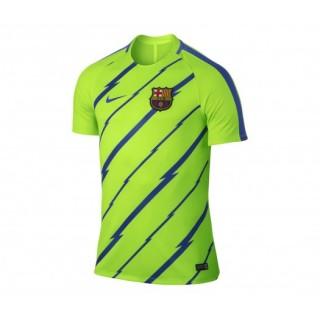 Maillot Pré Match Nike FC Barcelone Vert Enfant