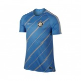 Maillot Pré Match Nike Inter Milan Bleu