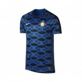 Maillot Pré-Match Nike Inter Milan Squad Bleu
