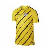 Maillot Pré Match Nike Manchester City Jaune