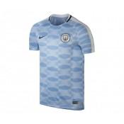 Maillot Pré-Match Nike Manchester City Squad Bleu