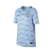 Maillot Pré-Match Nike Manchester City Squad Bleu Enfant
