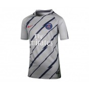 Maillot Pré Match Nike Paris Saint-Germain Gris Enfant