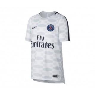 Maillot Pré-Match Nike Paris Saint-Germain Squad Blanc Enfant