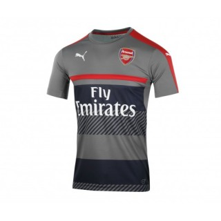 Maillot Pré Match Puma Arsenal Gris