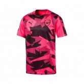 Maillot Pré-Match Puma Arsenal Rose