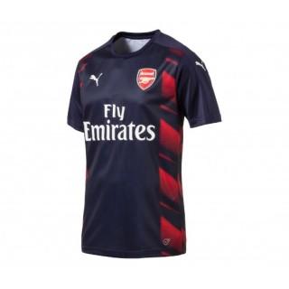Maillot Pré Match Puma Arsenal Rouge