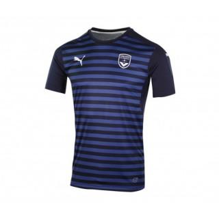 Maillot Pré Match Puma Bordeaux Bleu