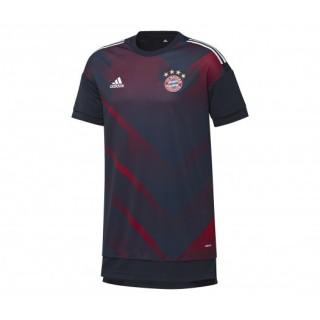 Maillot Pré Match adidas Bayern Munich Bleu