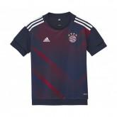 Maillot Pré Match adidas Bayern Munich Bleu Enfant