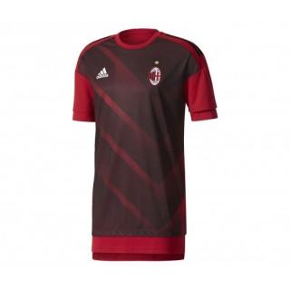 Maillot Pré Match adidas Milan AC Rouge