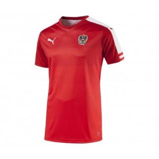 Maillot Puma Autriche Domicile Rouge