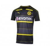 Maillot Puma Borussia Dortmund Extérieur 2016/17 Noir Enfant