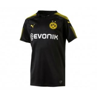 Maillot Puma Borussia Dortmund Extérieur 2017/18 Noir Enfant
