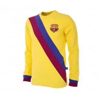 Maillot Rétro Copa FC Barcelone 1974/75 Jaune