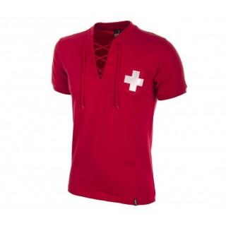 Maillot Retro Suisse 1954 Rouge