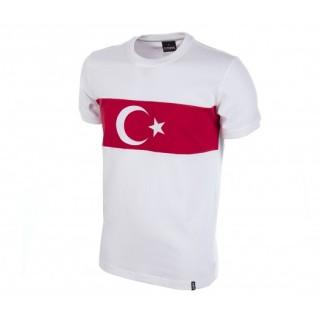 Maillot Retro Turquie 1970 Blanc