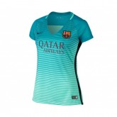Maillot Supportrice Nike FC Barcelone Third 2016/17 Vert Femme