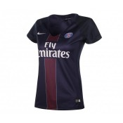 Maillot Supportrice Nike Paris Saint-Germain Domicile 2016/17 Bleu Femme