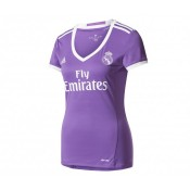 Maillot Supportrice adidas Real Madrid Extérieur 2016/17 Femme Violet
