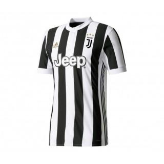 Maillot adidas Authentique Juventus Domicile 2017/18 Blanc et Noir