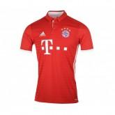 Maillot adidas Bayern Munich Domicile 2016/17 Rouge