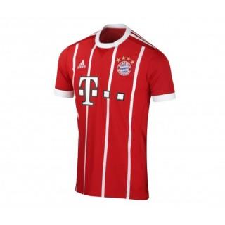 Maillot adidas Bayern Munich Domicile 2017/18 Rouge